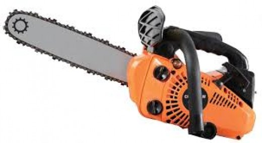 Tony Allen had a warped sense of what you use a chainsaw for.