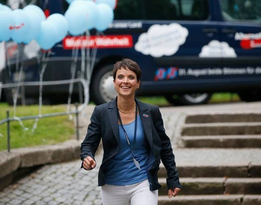Frauke Petry of the AFD