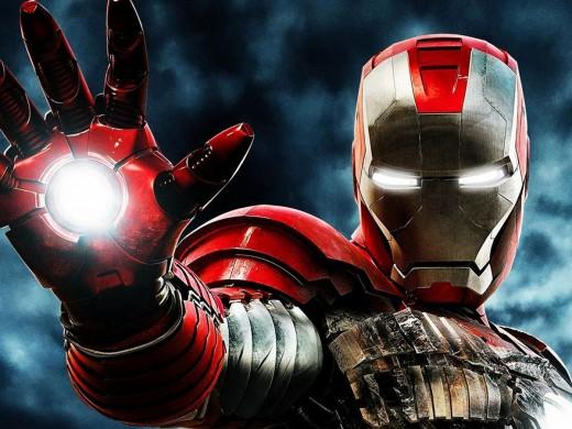 Iron Man 3 - starring Robert Downey Jr.
