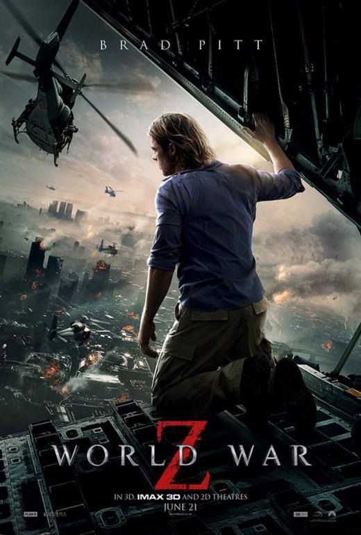 World War Z - starring Brad Pitt
