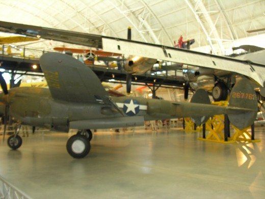 The P-38 at the Udvar-Hazy Center.  June, 2016.