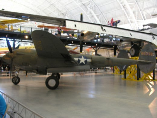 The P-38 at the Udvar-Hazy Center, June 2014.