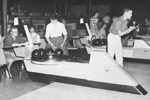 Kona Lanes, late  1950s or early 1960s