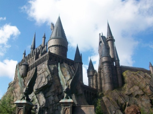 Some residential colleges are patterned after Hogwart's School of Wizardry.