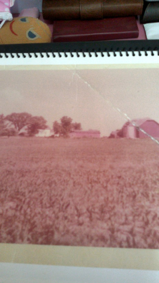 Patti and I lived on this farm 1954-1956.