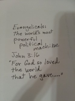 Evangelicals: the world's most powerful political machine