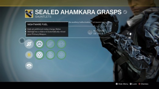 Imagine, instead of having one special ability of your exotic gear, you had one piece that had three...