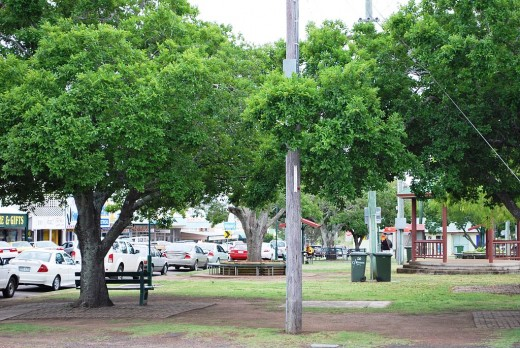 The Park in Lamb Street, Murgon's Main Street