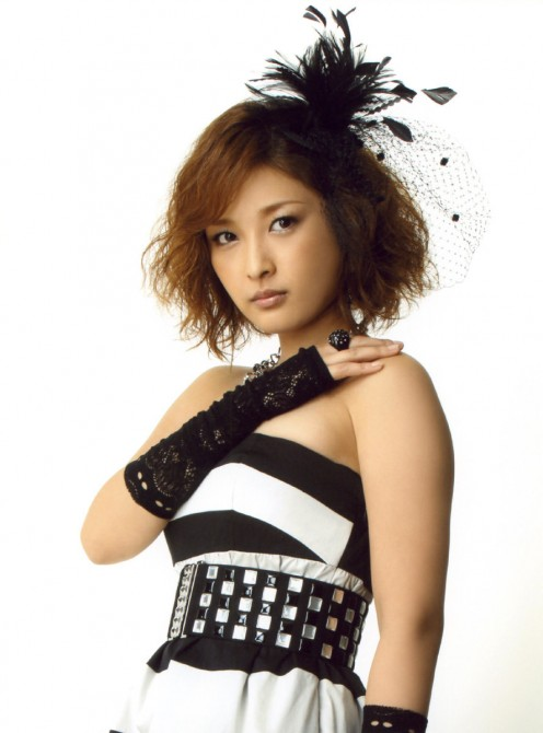 Rika Ishikawa former 4th generation member of Morning Musume and also a part of Country Musume from 2001 through 2003.