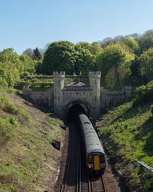 Northern Portal of West Sussex Clayton Tunnel By Diliff (Own work) [CC BY-SA 3.0 (http://creativecommons.org/licenses/by-sa/3.0) or GFDL (http://www.gnu.org/copyleft/fdl.html)], via Wikimedia Commons