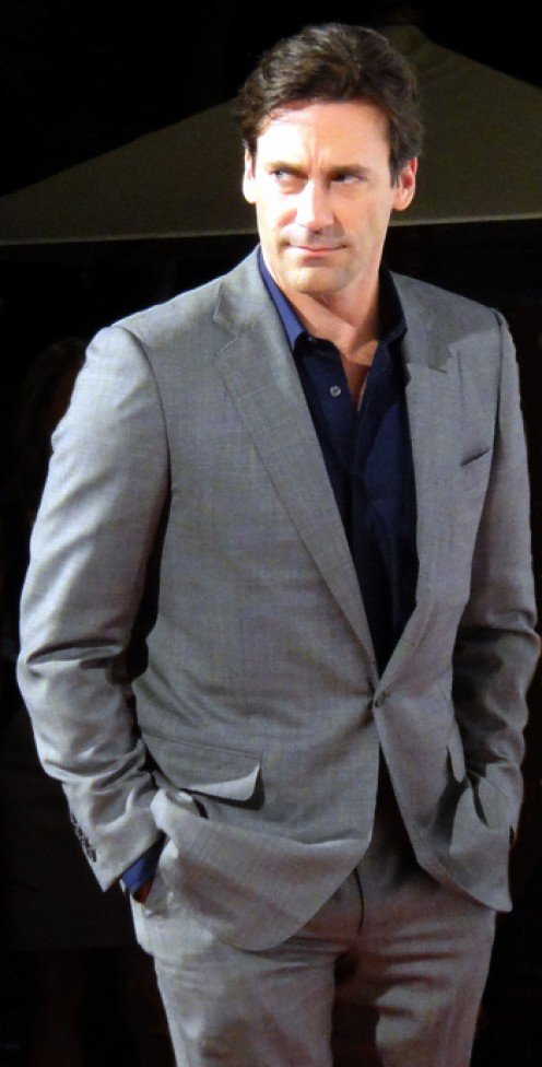 Stately Jon Hamm in 2010