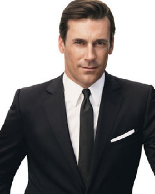 Jon Hamm posing for GQ