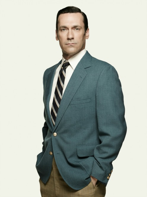 A first look at Don Draper of AMC's Mad Men before it was so popular