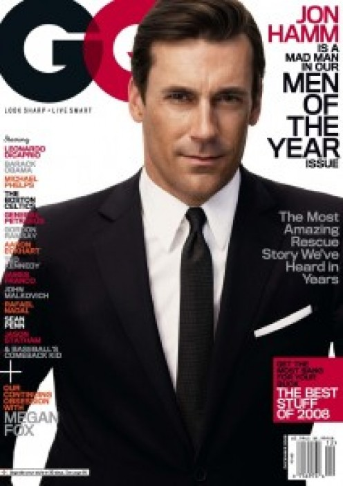 Doesn't Jon Hamm  make the GQ cover look great?