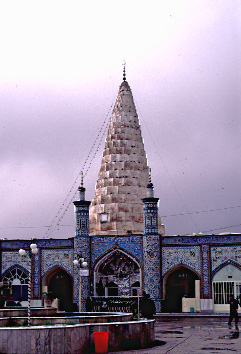 View outside the Tomb of Daniel In Sushan