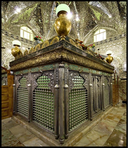 Inside this mausoleum lies the body of Daniel.