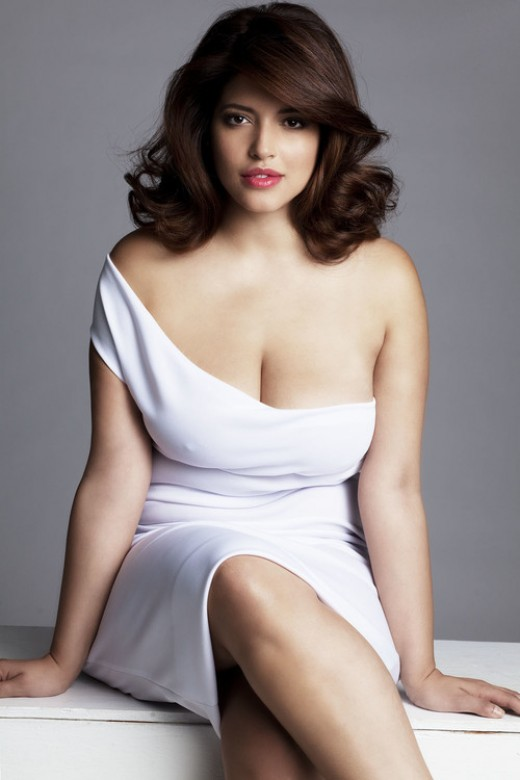 Denise Bidot - Beautiful Plus Size Women Models