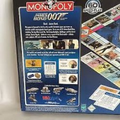 Any fan of the James Bond films will surely love the Monopoly version.