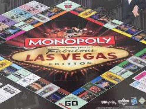 Experience the game tables and night life of Nevada in Monopoly's take on Vegas.
