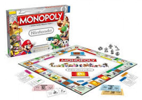 We all had the 8bit NES with Super Mario Brothers and Duck Hunt. We all have had a Monopoly set. Now the best of both world collide.
