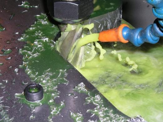CNC milling.
