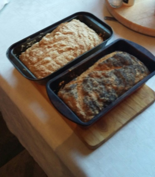 Recipe for Irish soda bread with added garlic for extra taste.