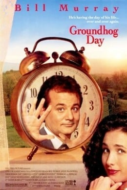 Groundhog Day Theatrical Release Poster