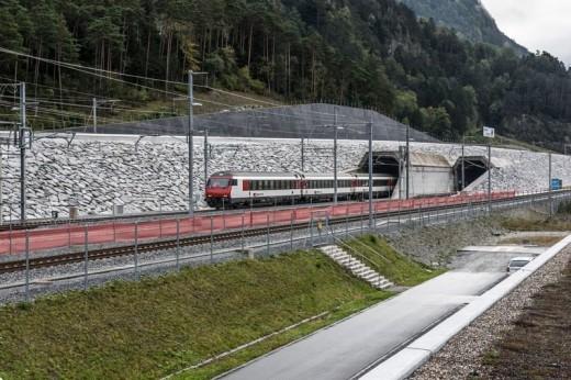 Gotthard tunnrl