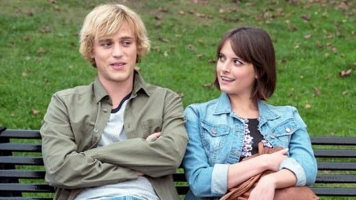 ...meanwhile, Hannah Britland (pictured with Johnny Flynn), plays Abigail.  Both Britland and McGuire had guest roles on Misfits during its second and third seasons, respectively.