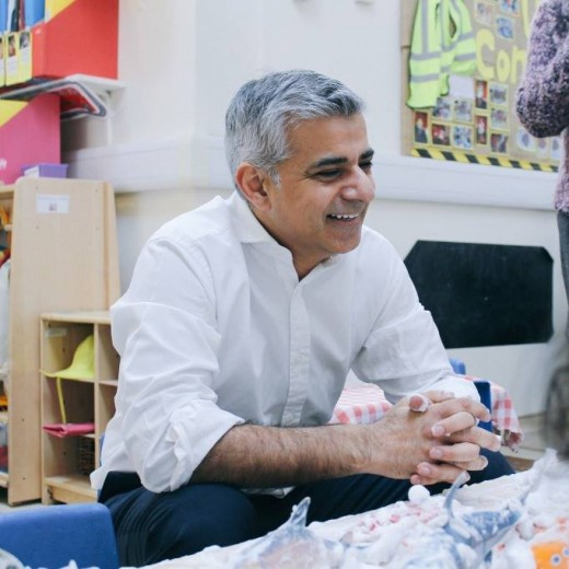 London Muslim Mayor of London Sadiq Khan saying Trump's visit should be called off
