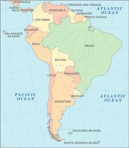 MAP 3 OF BRAZIL