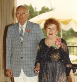 Mama Dolly and Grandpa Lyle on their 50th wedding anniversary.