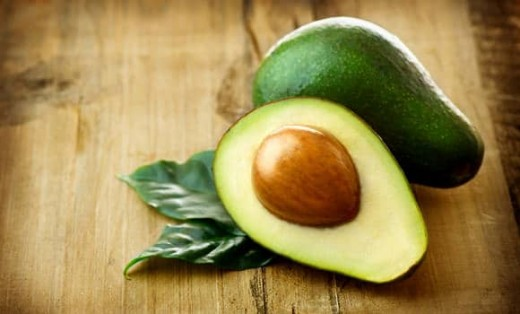 Heart healthy avocados