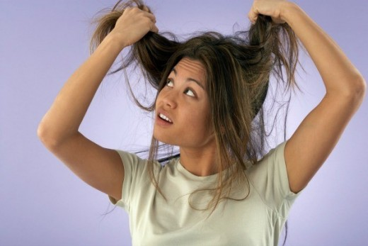 Getting jewelry caught in your hair, especially if you have long hair, and then trying to get it out is never a fun experience