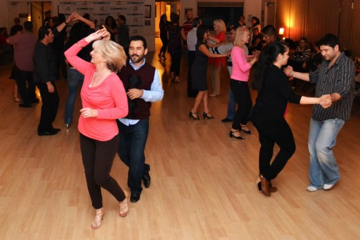 Even if you're a beginner, prepare to do lots of spins and turns when you're dancing salsa!