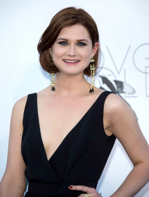 Bonnie Wright has grown up over the years!