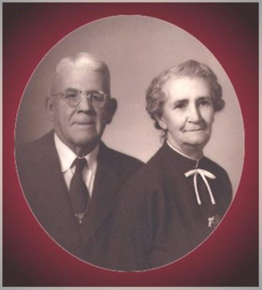 Parents Albert and Elsie Holderman