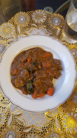 Moroccan Style Beef Stew