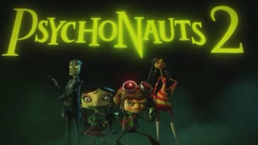 A screenshot from the teaser for Psychonauts 2.