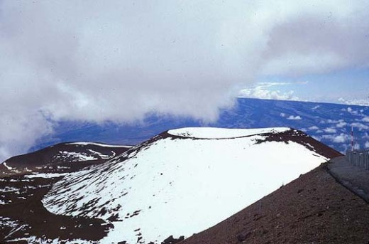 Mauna Kea is the only volcano in Hawaii known to be glaciated (have a