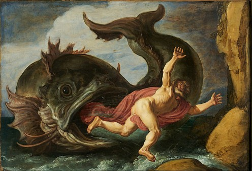 Jonah and the Whale by Pieter Lastman 1621