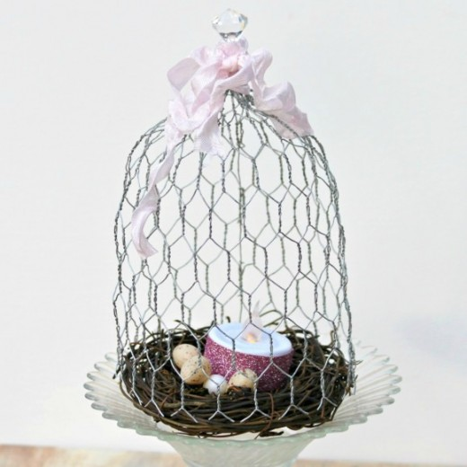 craft chicken wire 40 rustic chicken wire craft ideas feltmagnet 1458