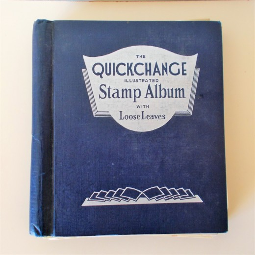 Old Stamp Album 1500 + World Stamps Collection