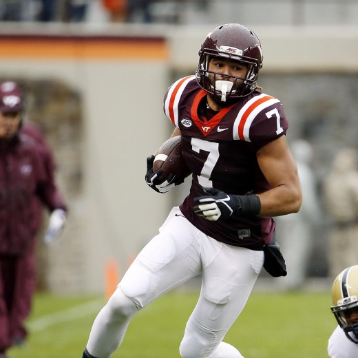 Buck Hodges, TE, Virginia Tech
