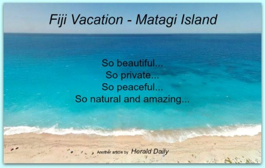 On your next Fiji vacation, be sure to experience Matagi Island
