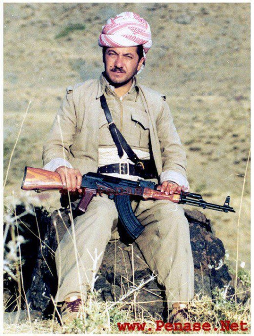 Just what a Kurdish border guard would look like, without the AK47 you were undressed!