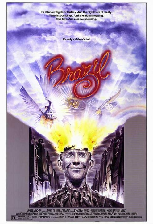 TERRY GILLIAM 1985 - BRAZIL MOVIE POSTER