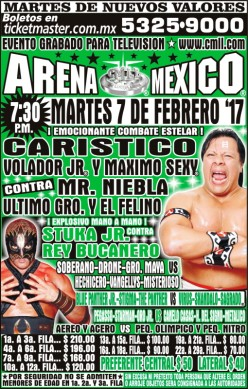 CMLL Tuesday Preview: Stuka and the Buc