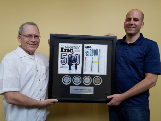 Shopper Approved - Inc 500 Award