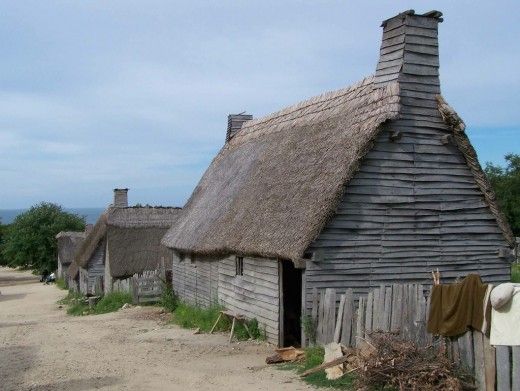 Plimoth Plantation; my ancestor, Jonathan Dunham, was the Deacon of the Plymouth Colony ca. 1628
